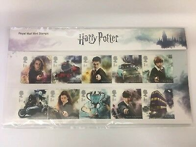 GB Royal Mail Harry Potter Presentation Pack 2018 x15 1st Class Stamps