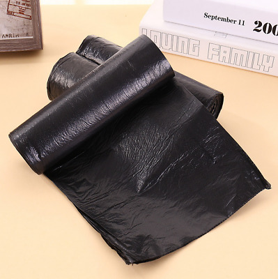 6 Rolls 13 Gallon 60*80cm Daily Kitchen Garbage Bag Black Trash Bag 15pcs/1 roll