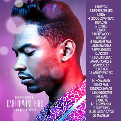 Best Of Miguel Earth, Wind & Fire DJ Compilation Mix CD