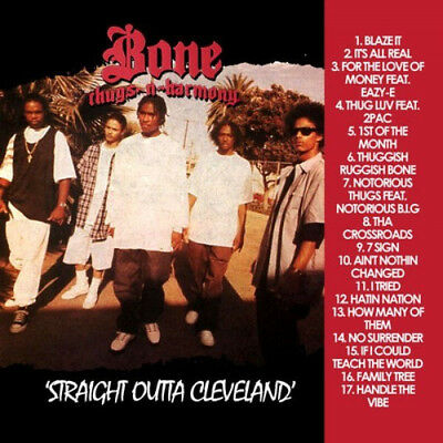 Best Of Bone Thugs N Harmony Straight Outta Cleveland DJ Compilation Mix CD
