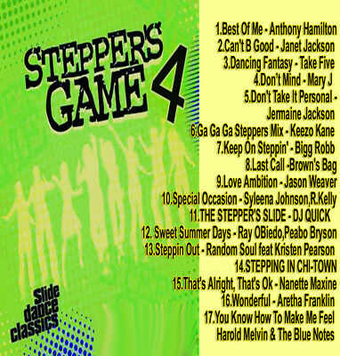 Best Of THE STEPPERS GAME 4 DJ Compilation Mix CD