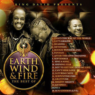 Best Of Earth, Wind & Fire Best Of DJ Compilation Mix CD