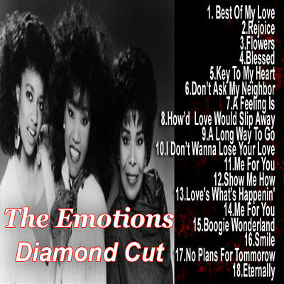 Best Of THE EMOTIONS DJ Compilation Mix CD