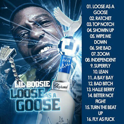 Best Of Lil Boosie Loose As A Goose DJ Compilation Mix CD
