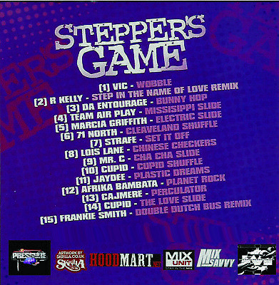 Best Of THE STEPPERS GAME 1 DJ Compilation Mix CD