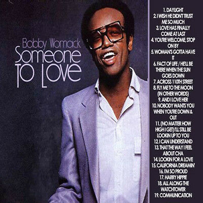 Best Of Bobby Womack DJ Compilation Mix CD