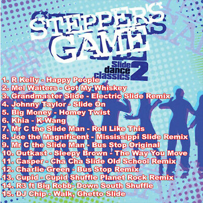 Best Of THE STEPPERS GAME 2 DJ Compilation Mix CD
