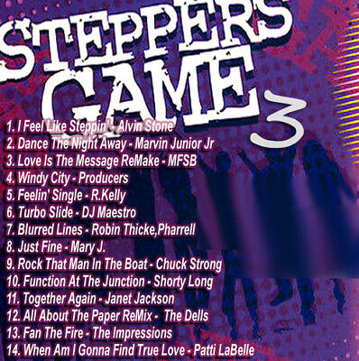 Best Of THE STEPPERS GAME 3 DJ Compilation Mix CD