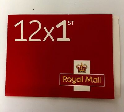 12 x 1st CLASS Stamps NEW Royal Mail Postage Stamp  Book