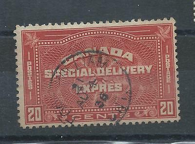 Canada stamps. 1932 Special Delivery stamp used. (X493)
