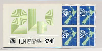 LJ61547 New Zealand maps cartography fine booklet MNH