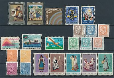 LJ62364 Finland nice lot of good stamps MNH
