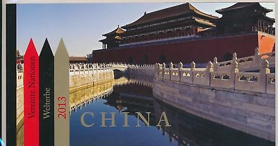 LJ61569 United Nations China monuments prestige booklet MNH