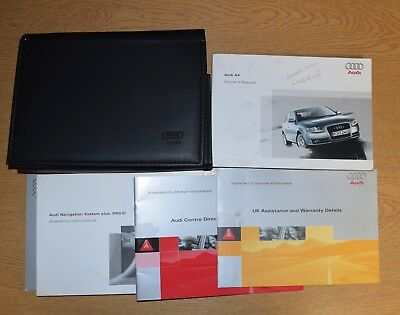audi a4 owners manual 2007