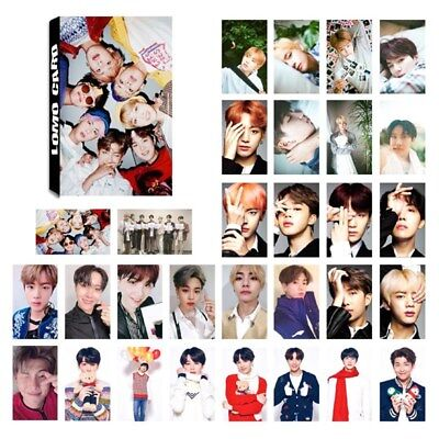 30pcs KPOP BTS Bangtan Boys Love Yourself Album Self Made Lomo Cards JIMIN oyw