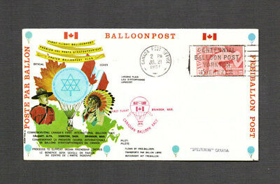 Baloonpost - Canada Post Office vom 21.07.1967