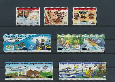LJ62783 Papua New Guinea nice lot of good stamps MNH