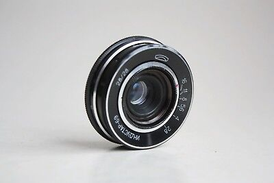 INDUSTAR-69 2,8/28 Soviet WIDE ANGLE M39 screw 39mm LENS