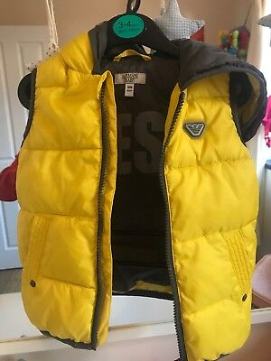 Armani Baby Gilet/body Warmer 18 Months Absolutly Gorgeous Immaculate