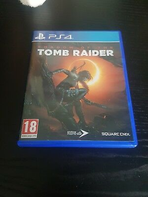 Shadow of the Tomb Raider PS4 comme neuf