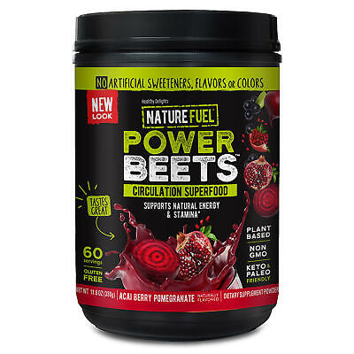 Nu Therapy Power Beets Juice Powder Nitric Oxide Blood Health Bulk 60 Servings