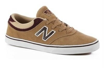 New Balance Quincy 254 Skate Shoes Tan White - 6