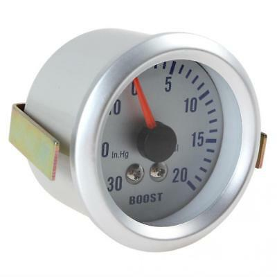 Universal 2Inch 52mm 0~30in.Hg / 0~20PSI Auto Car Turbo Boost Gauge Meter 12V