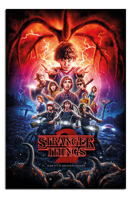 Stranger Things Season 2 One-Sheet Poster New - Maxi Size 36 x 24 Inch
