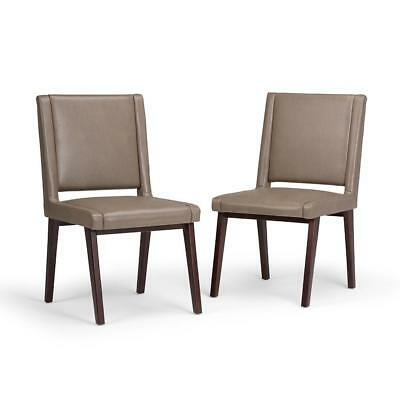 Phenomenal Alexander Teal Bonded Leather Dining Chair Set Of 2 Beatyapartments Chair Design Images Beatyapartmentscom