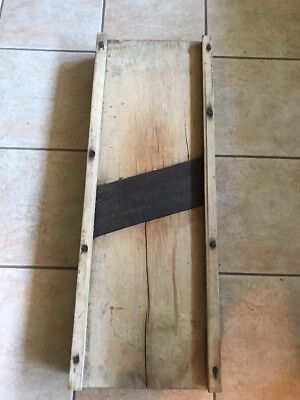 Vintage Antique Sour Kraut Cutter Primitive Wood Kitchen Decor