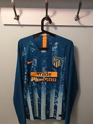 Camiseta Shirt Atletico Madrid Player Issue Match Un Worn 18/19 L + Save +