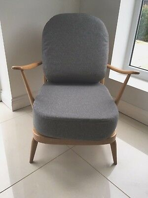 Vintage Retro Blonde Ercol 203 Easy Chair. Courier available from £50