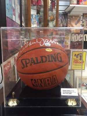 f490c6f289a KAREEM ABDUL-JABAR LOS Angeles Lakers Signed Spalding Basketball ...