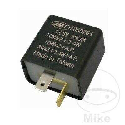 Vespa LX 50 2T 2012 JMP Electronic Flasher Relay 12V 2 Pole