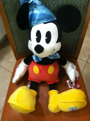 NWT Disney Parks Exclusive MICKEY MOUSE 90th Birthday Celebration 22 Inch Plush