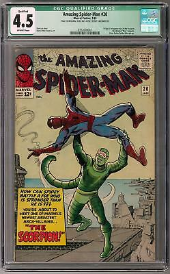 Amazing Spider-Man #20 CGC 4.5 (OW) 1st Appearance of Scorpion