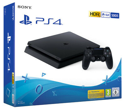 Playstation 4 PS4 500GB F Chassis Black Console SONY COMPUTER ENTERTAINMENT
