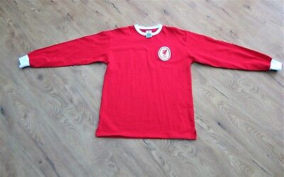899242c07 Mens Liverpool FC 1964 Long Sleeve Retro Football Shirt SCORE DRAW Large  NEW Red