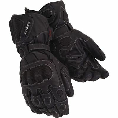 Black Sz M Cortech Scarab Winter Motorcycle Glove
