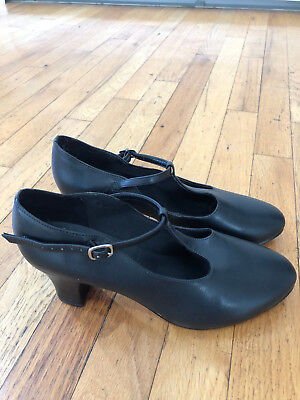 So Danca Character Shoes Womens Size 8.5 Black Used