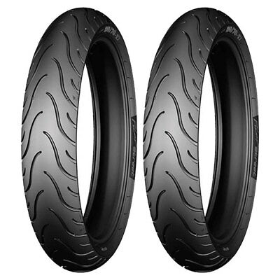Tire Set Michelin 80/80-14 43P + 70/90-17 43S Pilot Street