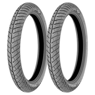 Tire Set Michelin 110/80-14 59S City Pro + 80/80-16 45S City Pro Xl