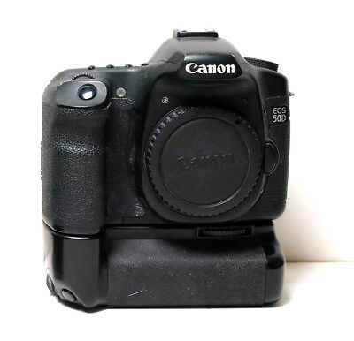 Canon 50D for parts or repair with battery grip