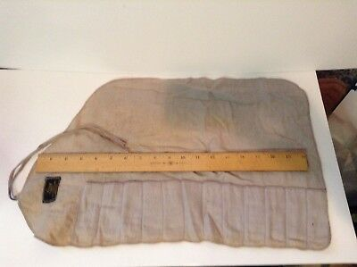 Long Gold & Silversmith, Boston MA, Sterling Cutlery Felt Bag