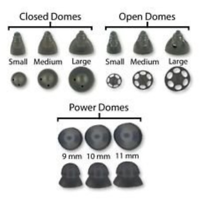 Phonak Hearing Aid Open Domes, Size Small