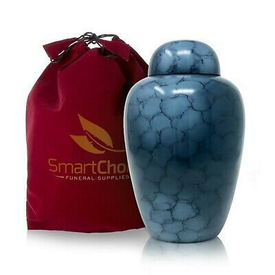 SmartChoice Cremation Urn for Human Ashes - Handcrafted Funeral Memorial Urn ...