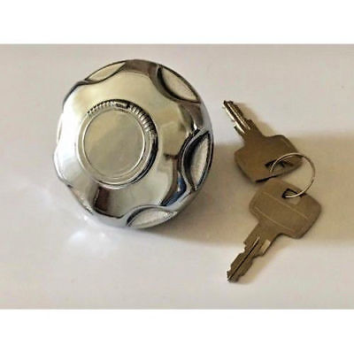 Ford Escort MK1 Saloon Chrome Locking Chrome Petrol Cap