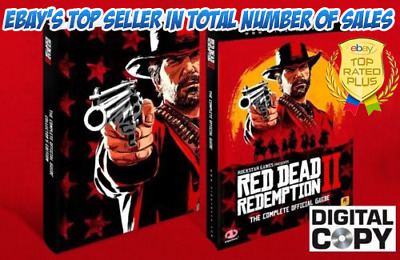 Red Dead Redemption 2 - THE COMPLETE OFFICIAL FULL GUIDE PS4/XBOX (digital)