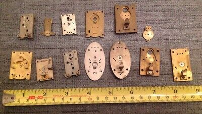 Clock Platform Escapement Parts From Clockmakers Spare Parts Collection