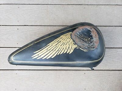 84 To 99 (Oem) Harley Softail Gas Tank (Early Version 84 To 88 Tank)  5 Gallon